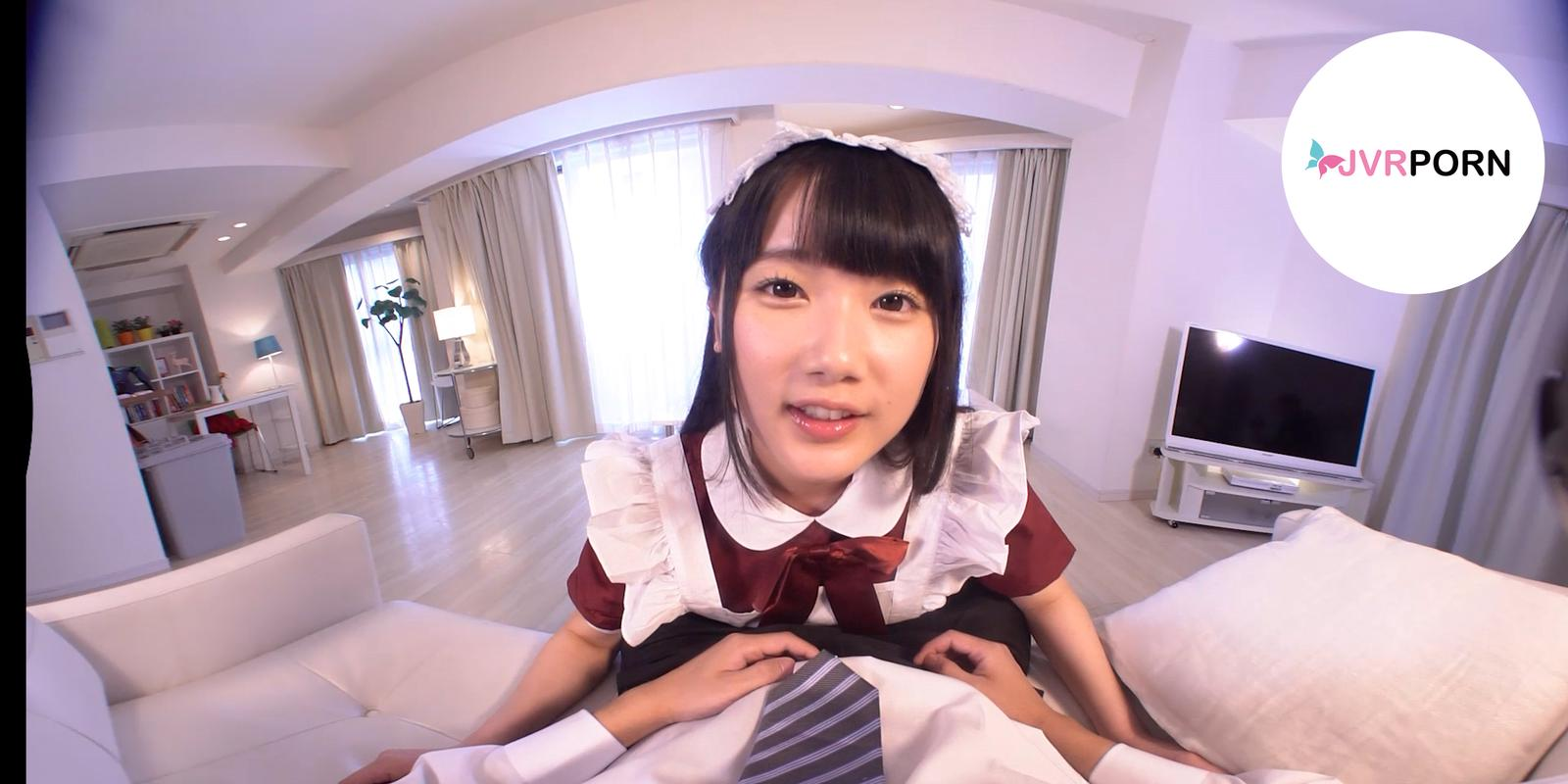 A relax moment from a cute Japanese Maid| screenshot-0
